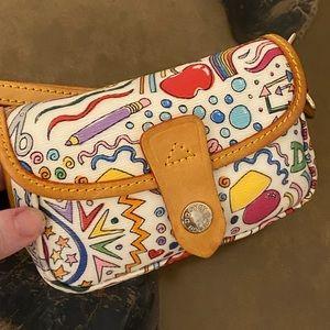 DOONEY BOURKE Wristlet RARE New Deadstock! leather